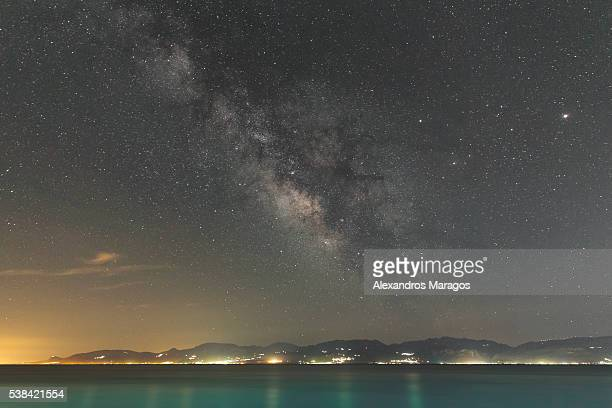 The Milky Way over Peloponnese