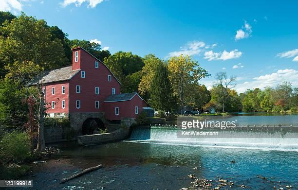 mill a clinton - mulino ad acqua foto e immagini stock