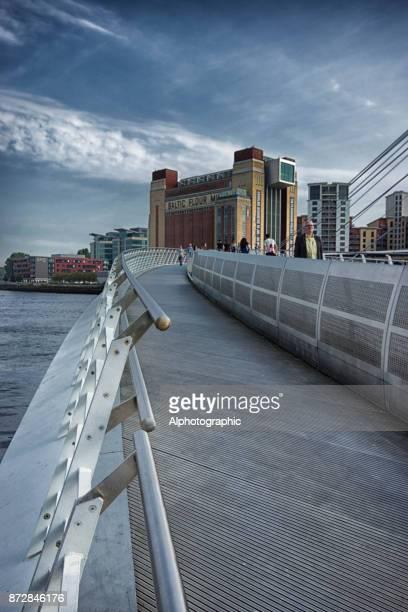 the millenium bridge - england montenegro stock pictures, royalty-free photos & images