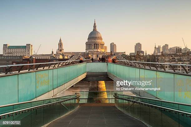 The Millennium Bridge (London)