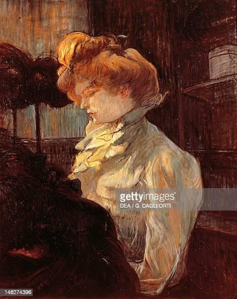 The milliner by Henri de Toulouse Lautrec Albi Musée ToulouseLautrec