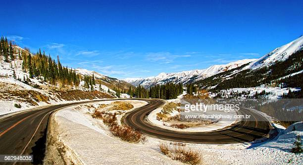 usa the million dollar highway - million dollar highway stock photos and pictures