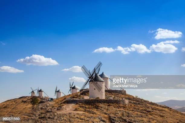 the mills of consuegra. castilla la mancha. toledo.  españa - トレド ストックフォトと画像