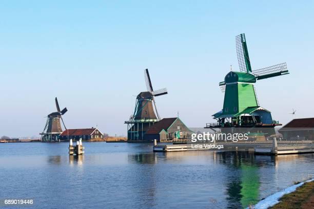 The Mills of Zaanse Schans.