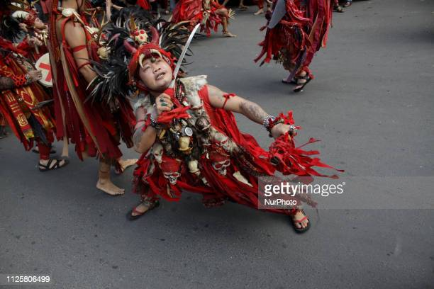 The Minahasa community from North Sulawesi province shows their traditional martial arts as they took a part in the China Town Festival 2019 in...