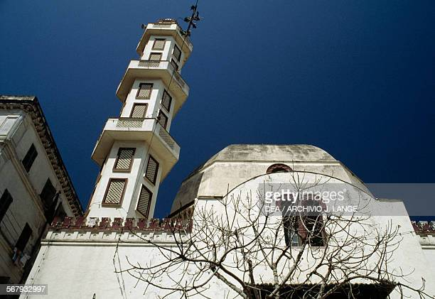The minaret of a mosque Algiers Algeria