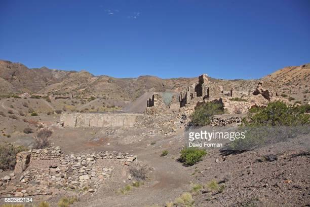 The mines of Paramillos near Mendoza, Argentina