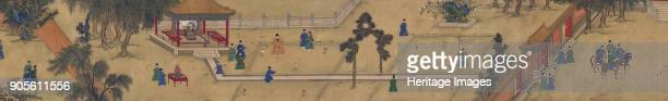 The Ming Emperor Xuande playing chuiwan Found in the Collection of Palace Museum Beijing
