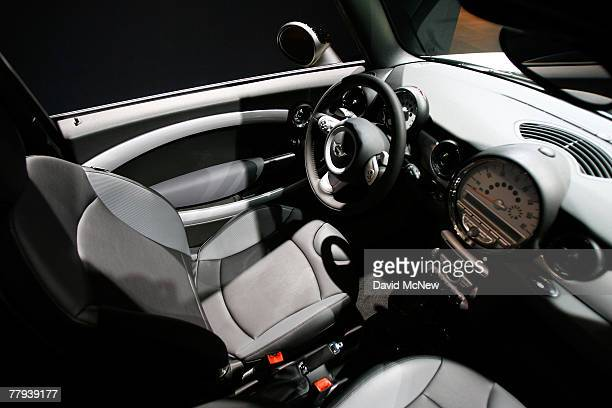 The Mini Cooper Clubman station wagon is shown during the twoday media preview of the Los Angeles Auto Show first major North American car show of...