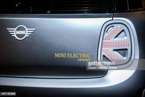 The Mini Electric Concept on display at the 2017 Frankfurt Auto Show 'Internationale Automobil Ausstellung' on September 13 2017 in Frankfurt am Main...