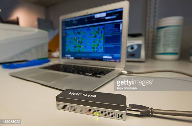 """The Minion, at the fraction of the cost of a full size DNA sequencer, can perform the same routine through the use of a """"cloud"""" analyzer. It also..."""