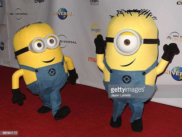 The Minions from 'Despicable Me' attend 'An Evening With NBC Universal' at The Cable Show 2010 at Universal Studios Hollywood on May 12 2010 in...