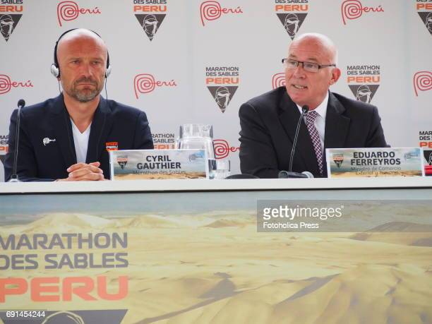 The Minister of Foreign Trade and Tourism of Peru Eduardo Ferreyros and the director of the event Cyril Gauthier announced that the Marathon Des...