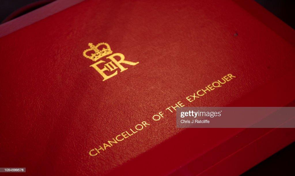 Chancellor Philip Hammond on Eve of Presenting UK Budget : News Photo