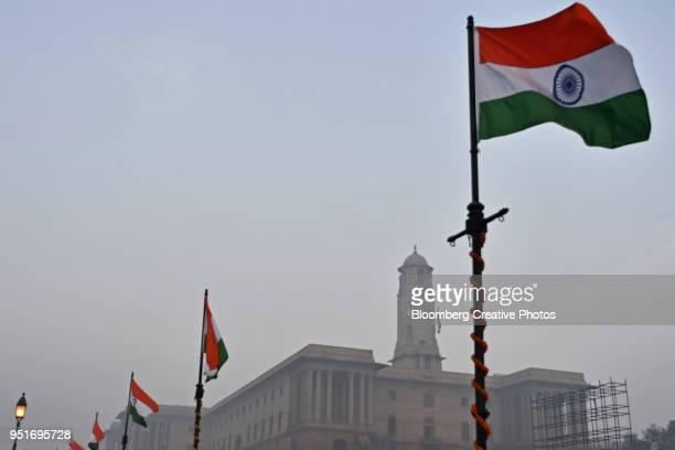 the ministries of finance and home affairs, in new delhi - indischer politiker stock-fotos und bilder