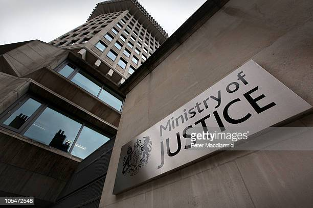 The Ministry of Justice on October 13 2010 in London England Government departments are braced for budget cuts when Chancellor of the Exchequer...
