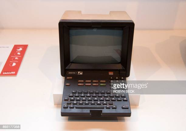 The Minitel France's precursor to the internet is displayed at The Museum of Failure in Los Angeles on December 7 2017 The Museum of Failure at the...