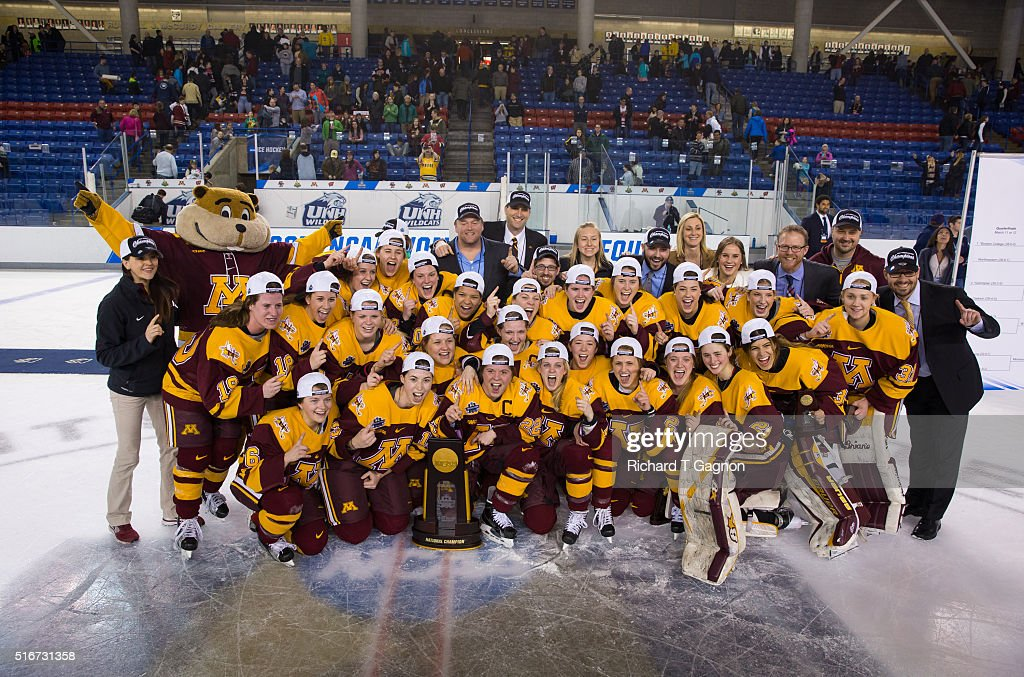 2016 NCAA Division I Women's Hockey Championship : News Photo