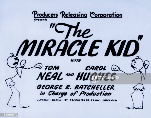 The Miracle Kid poster 1941