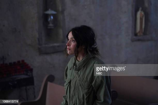 TIMELESS 'The Miracle of Christmas Part II' Episode 212 Pictured Abigail Spencer as Lucy Preston