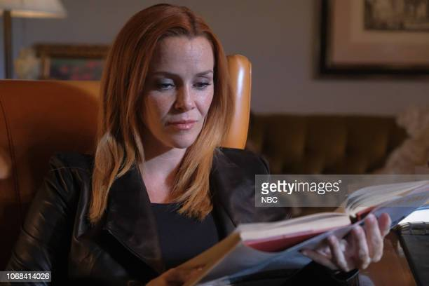 TIMELESS 'The Miracle of Christmas Part II' Episode 212 Pictured Annie Wersching as Emma Whitmore