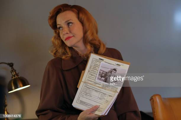 TIMELESS 'The Miracle of Christmas Part l ' Episode 211 Pictured Annie Wersching as Emma Whitmore
