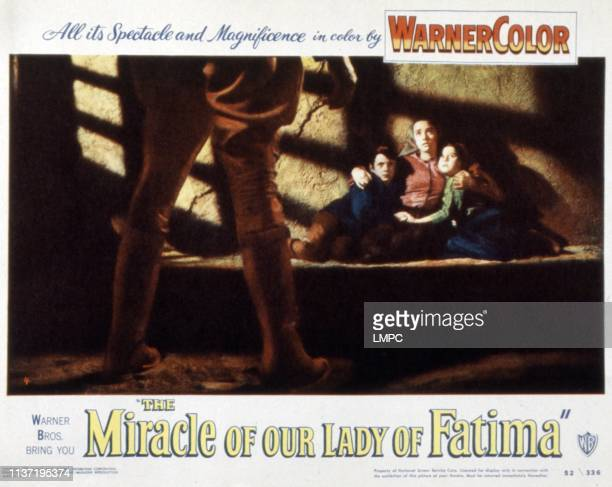 The Miracle Of Our Lady Of Fatima lobbycard Sammy Ogg Susan Whitney Sherry Jackson 1952