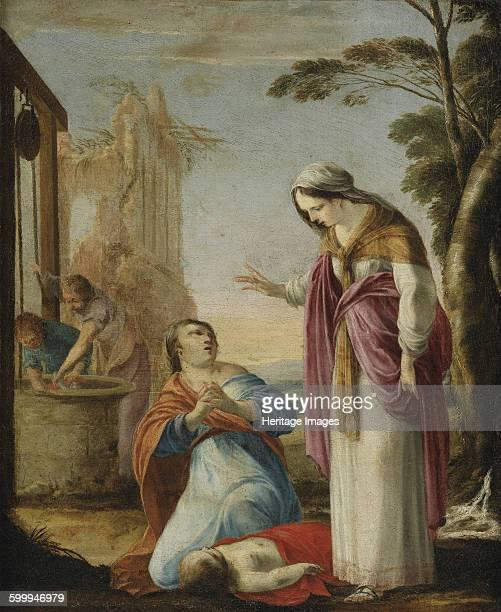 The Miracle of Saint Elizabeth of Thuringia. Private Collection. Artist : La Hyre, Laurent, de .