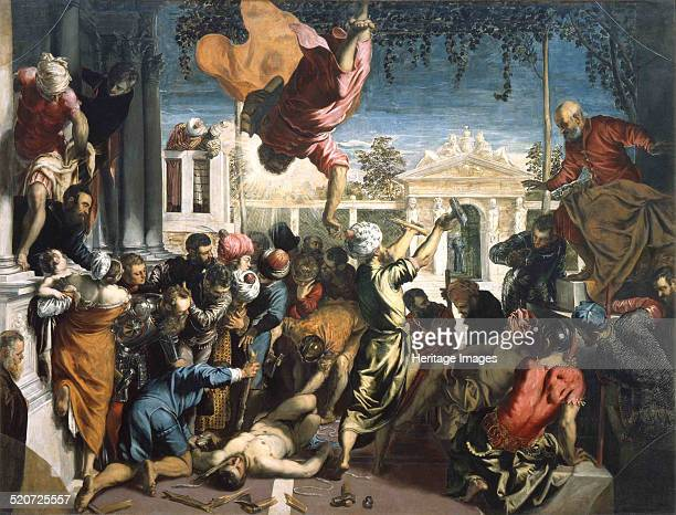 The Miracle of the Slave Found in the collection of Gallerie dell' Accademia Venice