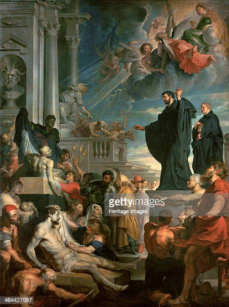 The miracles of Saint Francis Xavier 16171618 Found in the collection of the Art History Museum Vienne