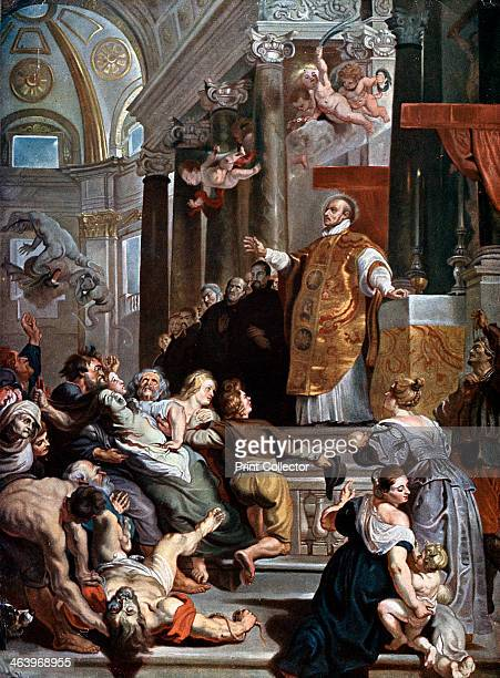 'The Miracles of Saint Ignatius Loyola' c16171618 St Ignatius of Loyola theologian priest founder of the Society of Jesus was canonised after this...