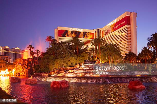 the mirage hotel and casino - the mirage las vegas stock pictures, royalty-free photos & images