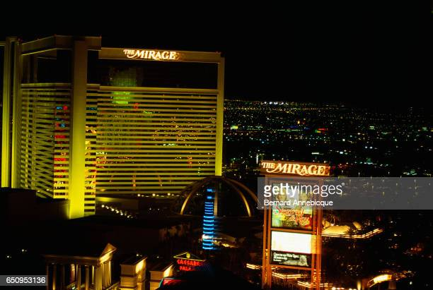 The Mirage Hotel in Las Vegas.