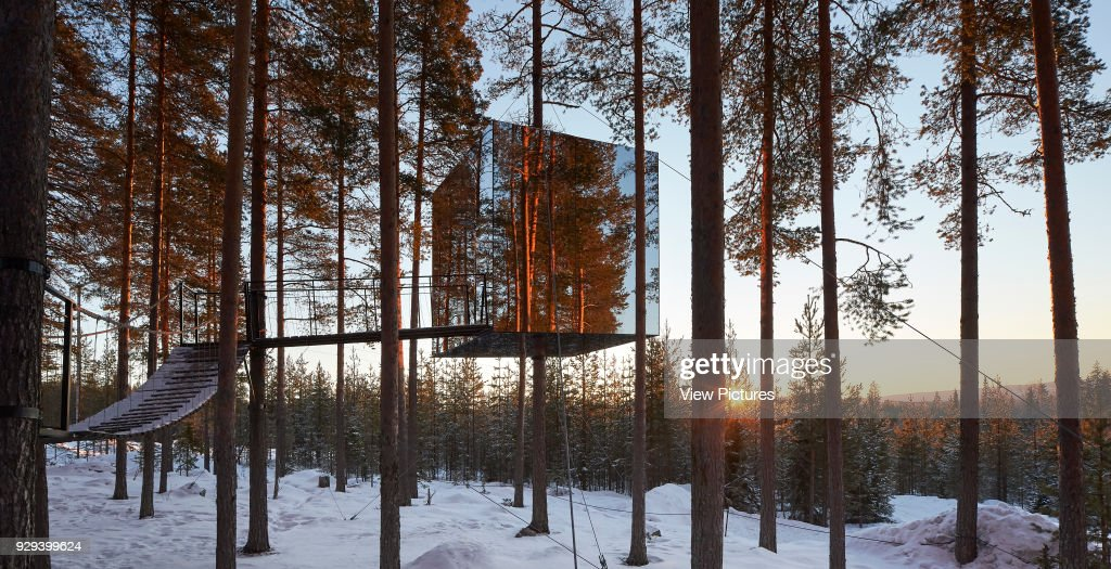 The Mirrorcube Treehotel Harads Sweden Architect Various 2016
