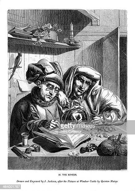 The Misers c14801530 An engraving from The ArtUnion Scrap Book Henry G Bohn London 1843