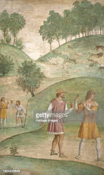 The Misfortunes of Cephalus, c. 1520/1522. Artist Bernardino Luini.