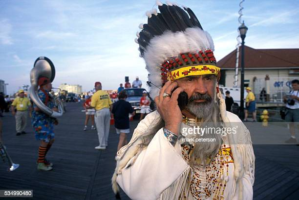 The Miss America parade down the Atlantic City boardwalk Photo by Mark Peterson/Corbis SABA