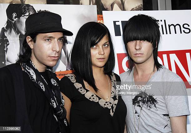 The Misshapes during Brothers of the Head New York Premiere at IFC Theater in New York City New York United States