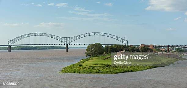The Mississipi river, Memphis, Tennessee, USA