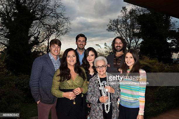 The Missoni Family Angela Missoni Rosita Missoni Teresa Missoni Margherita Missoni Giacomo Missoni Ottavio Missoni and Francesco Missoni are...