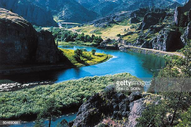 The Missouri River Gates of the Mountain Missouri United States of America