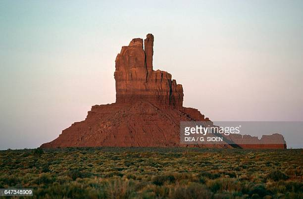 The Mittens Monument Valley Navajo Tribal Park Utah and Arizona United States of America
