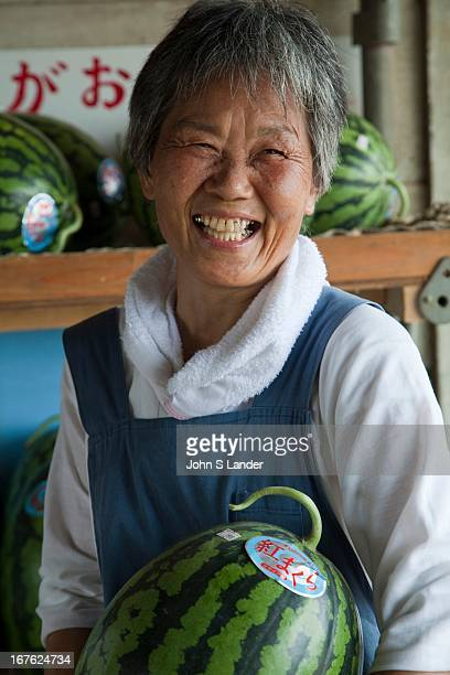The Miura Peninsula just south of Tokyo and Yokohama is one of the most famous spots in Japan for growing bountiful and sweet watermelons In winter...