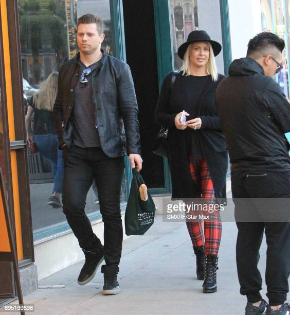 The Miz and Maryse Ouellet are seen on December 18 2017 in Los Angeles CA
