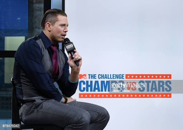 The Miz visits Build to discuss 'The Challenge Champs vs Stars' at Build Studio on November 17 2017 in New York City