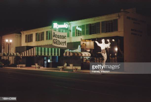The Mocambo, Sunset Strip, Sunset Boulevard, Hollywood, California, circa 1957.