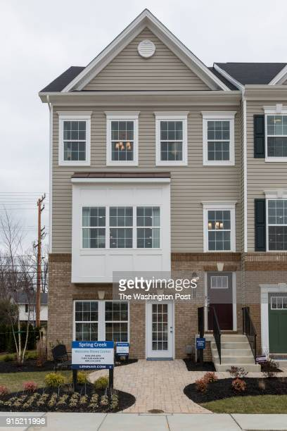 The model home at Spring Creek on January 24 2018 in Laurel Maryland