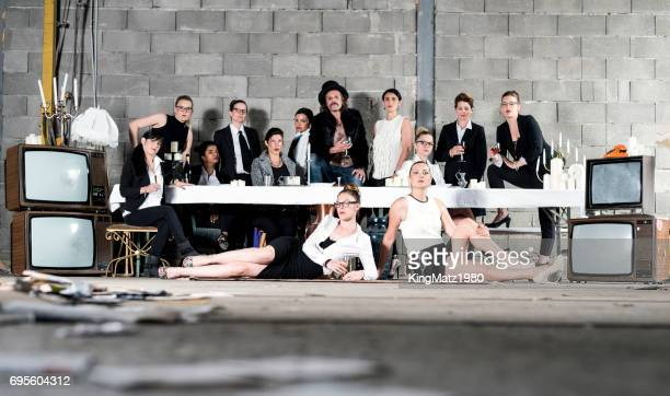 The modern last supper