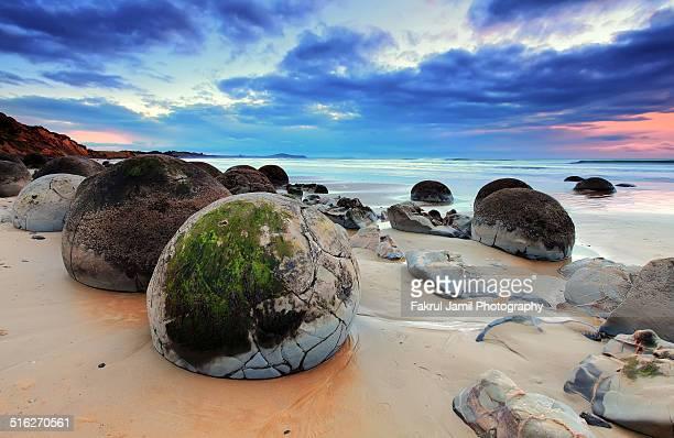 The Moeraki Boulders, New Zealand