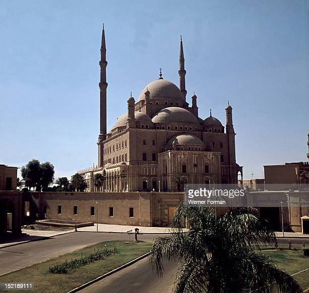 The Mohammed Ali Mosque built by Yusuf Bushnak in memory of Tusun Pasha Mohammed Ali's eldest son Egypt Islamic Ottoman 18301840 Citadel of Islamic...